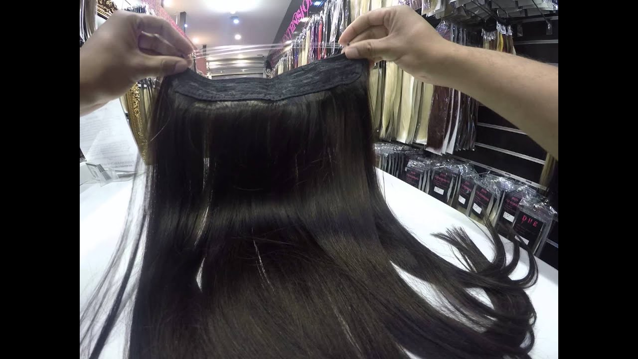 Flip In Halo Extensions Dulge Hair Melbourne