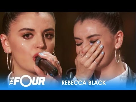 Rebecca Black BREAKS DOWN As She Relives 'Friday' Cyberbullying On 'The Four' Premiere