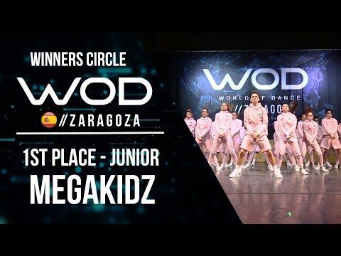 MEGAKIDZ  | 1st Place Junior | Winners Circle | World of Dance Zaragoza 2017 | #WODZGZ17