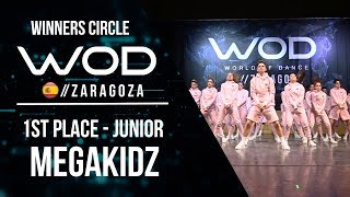 Baixar MEGAKIDZ | 1st Place Junior | Winners Circle | World of Dance Zaragoza 2017 | #WODZGZ17