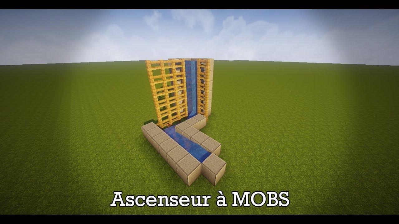 minecraft 1 13 1 ascenseur a mobs