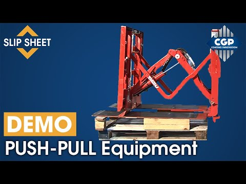 PUSH- PULL Equipment - Set Up Operation #CGPCoatingInnovation