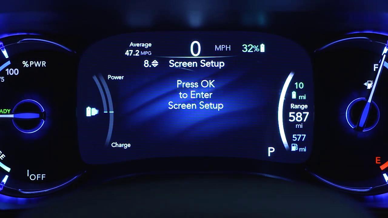 Instrument Cluster Display-Digital dashboard car ...