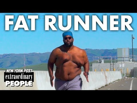 'Fat Runner' Not Trying To Lose Weight | Extraordinary People | New York Post