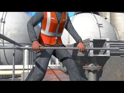 Heat Exchanger Retubing - Curran International - 3D Oil & Gas Animation
