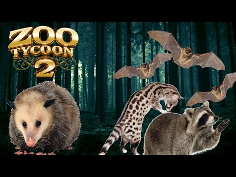 Zoo Tycoon 2: Nocturnal Animal House Exhibit Speed Build