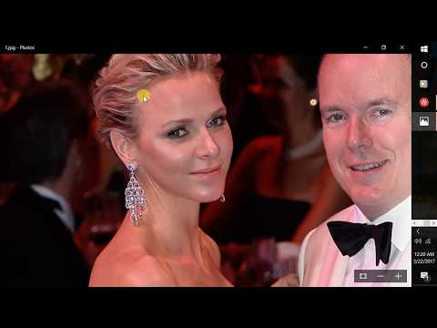 who is Princess Charlene Wittstock