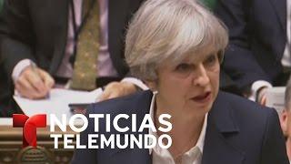 Comienza el Brexit, la separación del Reino Unido de Unión Europea   Noticiero   Noticias Telemundo