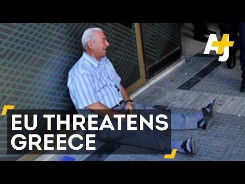 EU Threatens To Kick Greece Out Of Eurozone
