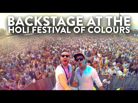 HOLI FESTIVAL OF COLOURS LONDON 2016 | What