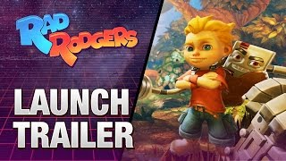 Rad Rodgers: World One - Launch Trailer