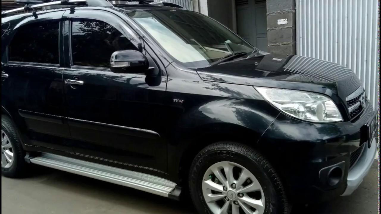 Dijual Cepat Mobil Daihatsu Terios TX Matic AT Hitam Kota Bandung