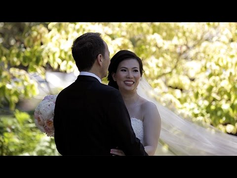 Dreamy Church Wedding | San Jose Marriott, San Jose, CA