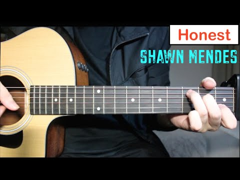 Shawn Mendes - Honest | Guitar Lesson (Tutorial) How to play Chords