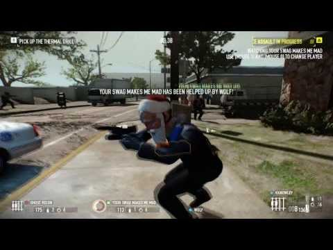 Payday 2: GO Bank Overkill Bloopers (With Friends/Subs)