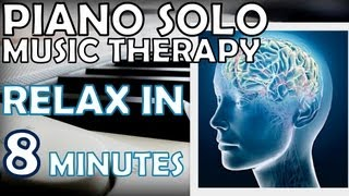 Study Music with Alpha Brain Waves -Relax and Concentrate in 8 minutes IT REALLY WORKS! - PIANO SOLO
