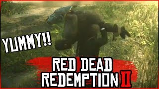 Red Dead Redemption 2: Gator Food!!