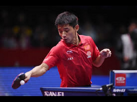 Zhang Jike - INSANE FOREHANDS!!!