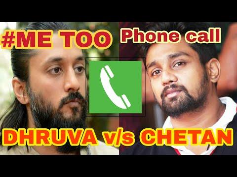 DHRUVA SARJA WARNING TO CHETAN IN PHONE CALL