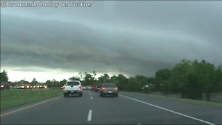 Nasty Supercell April 13th, 2012: Tornado Damage in Norman, OK!