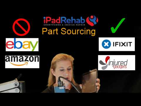 iPad Mini Repair– Apple Logo then blank screen?  Don't buy eBay Parts!
