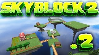 EXPANDING THE ISLAND!! - Skyblock 2 [#2] in Roblox!