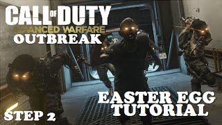 Advanced Warfare: Exo Zombies Easter Egg Tutorial - Step 2 Encrypted Black Box Insert Location!