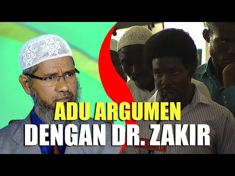Mengutip HADITS, Pemuda KRISTEN BERARGUMEN Dengan Dr. Zakir Naik
