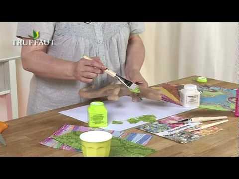 Decorer Vos Objets Avec Du Decopatch Jardinerie Truffaut Tv Youtube