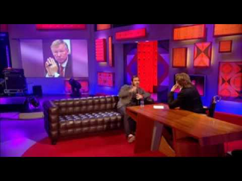 Eric Cantona interview on Friday Night with Jonathan Ross Show 05.06.09 Part 1/2