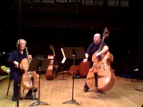 Anderson Seven Bass Duets Trans for Cello & Bass - YouTube