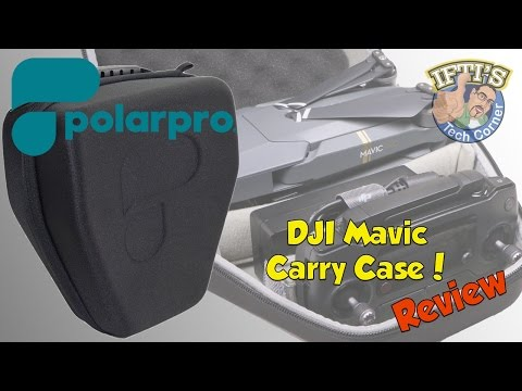 PolarPro : DJI Mavic Soft Storage Case - The Best Mavic Case??