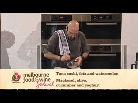 Michael Psilakis Recipe - 2010 Melbourne Food and Wine Festival Langham Melbourne MasterClass