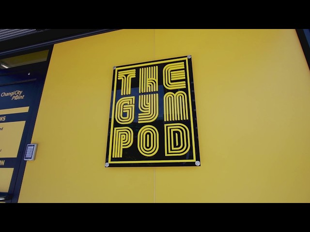 The Gym Pod: The Most Private Workout You'll Ever Get