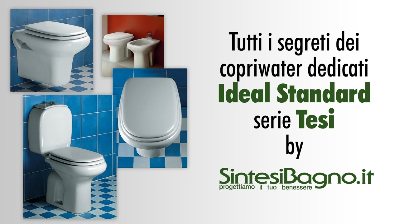 copriwater ideal standard tesi sedili wc dedicati youtube
