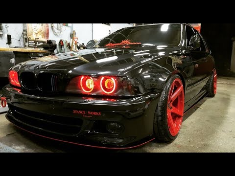 tuning bmw e39 530d touring red devil youtube. Black Bedroom Furniture Sets. Home Design Ideas