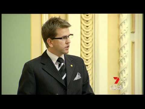 Peter Wellington, Member for Nicklin Supports Civil Union Bill In Queensland Parliament