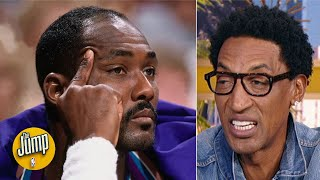 Download What I said to Karl Malone was the best line of trash talk in NBA history -Scottie Pippen | The Jump Mp3 and Videos