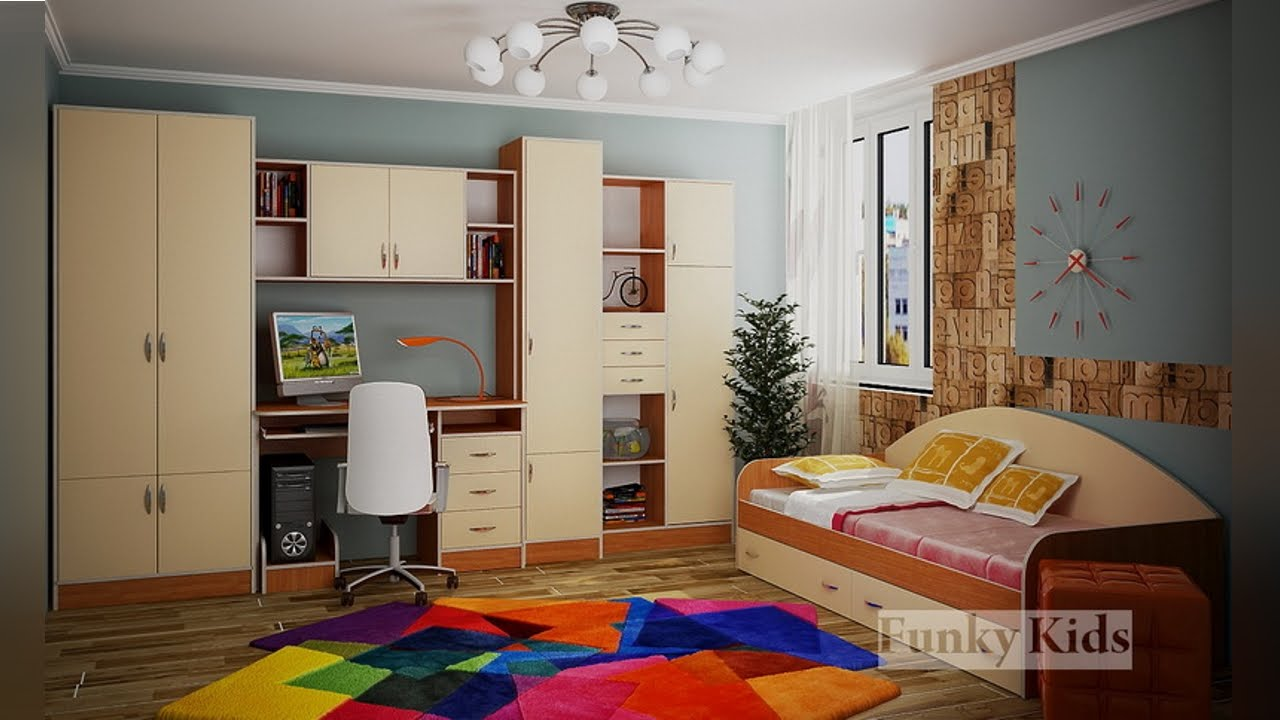 Мебель уголок школьника фанки - youtube.