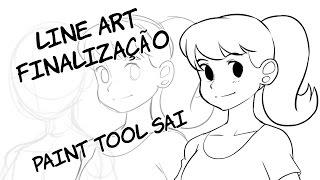 LineArt - Finalização - Paint Tool Sai