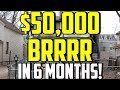 How to Make $50,000 on one Deal Using the BRRRR Real Estate Investing Strategy
