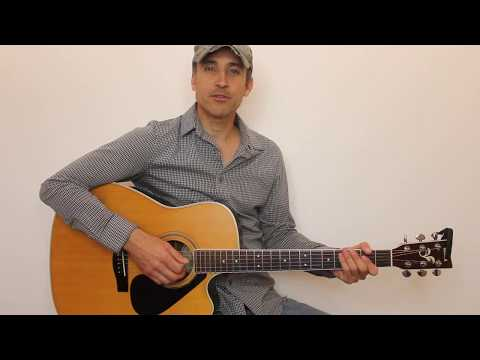 How To Play Run by George Strait - Acoustic Guitar Lesson