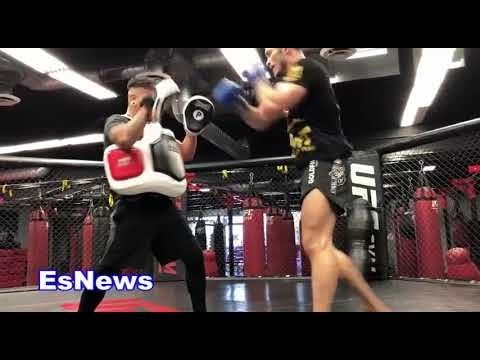 TMT MMA Star Ready To Help Floyd Mayweather Take Out Conor McGregor In A Cage EsNews Boxing