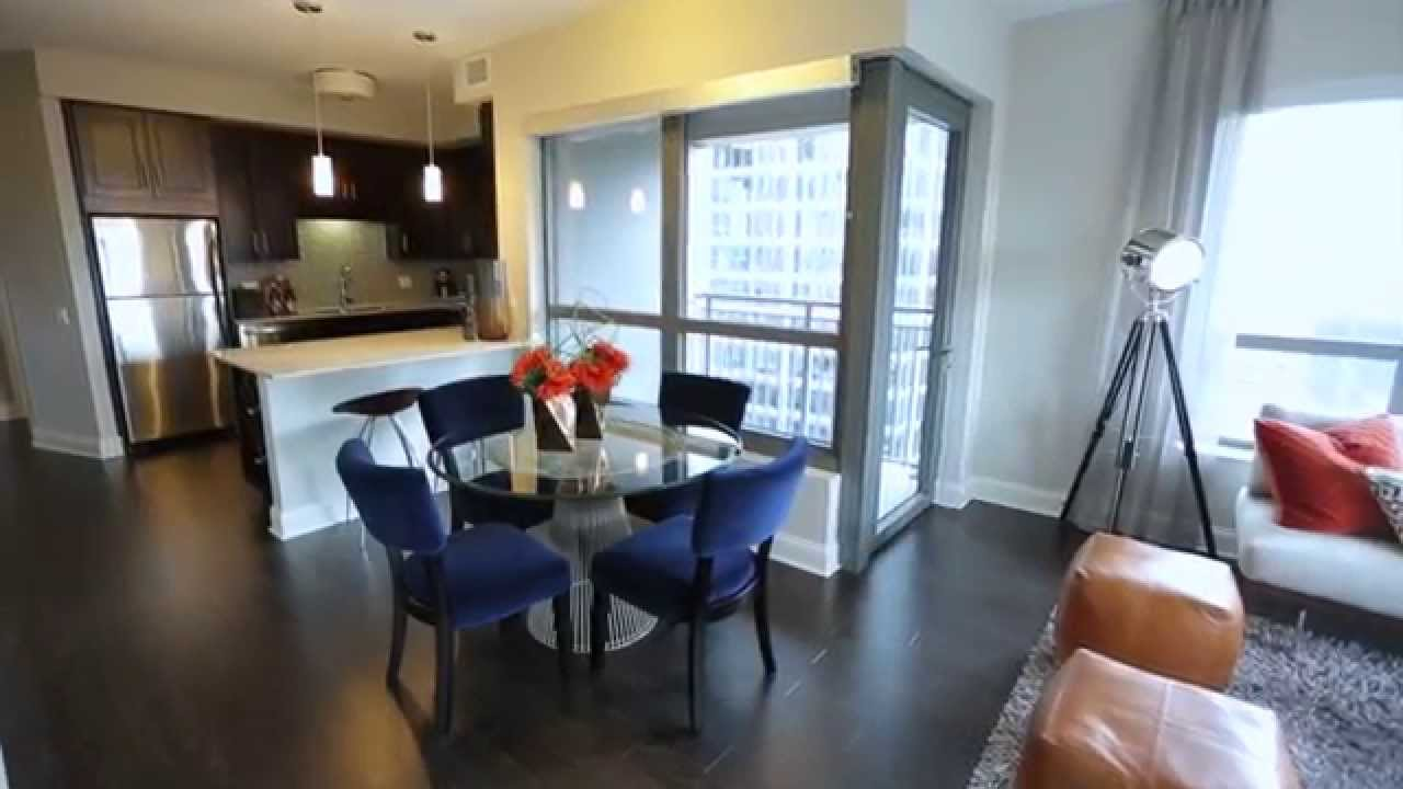 Gorgeous Two Bedroom Apartment - Chicago Apartments - AMLI River ...