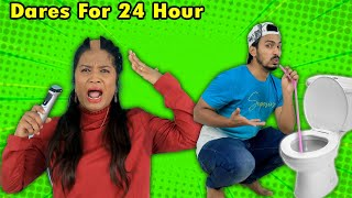 Extreme Dares For 24 Hours Challenge   Hungry Birds