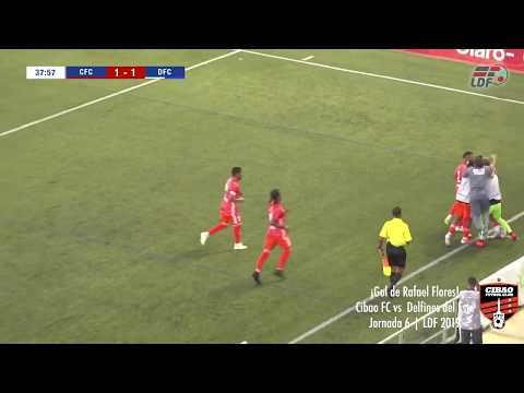 ¡Gol de Rafael Flores!  Cibao FC vs Delfines del Este    Jornada 6   LDF 2019
