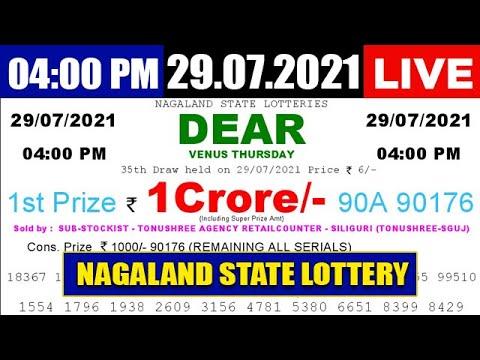 Nagaland State 4pm