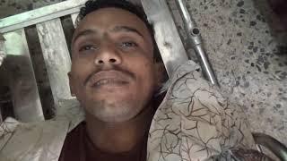 شاهد بالفيديو : جثمان مؤذن مسجد بيت مغاري الذي استشهد برصاص الحوثيين أثناء صلاة الجمعة