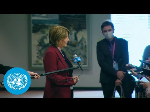 Norway on Ethiopia - Security Council Media Stakeout (1 October 2021)