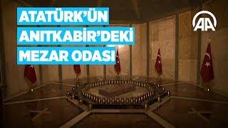 Atatürk'ün Anıtkabir'deki mezar odası